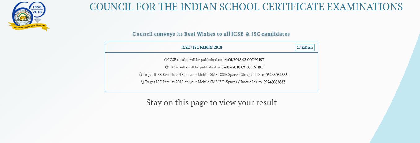 ICSE Result 2018