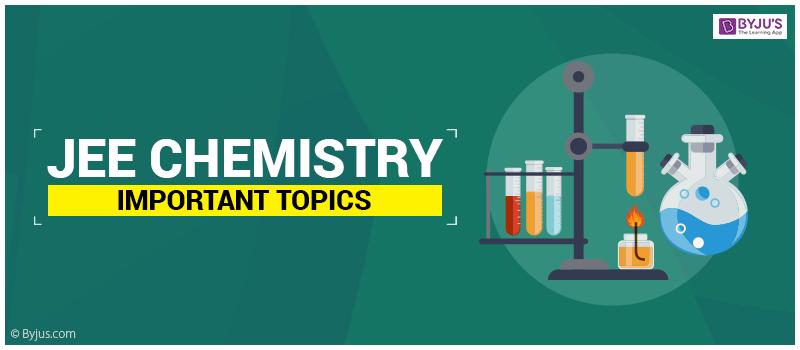 JEE Chemistry important topics