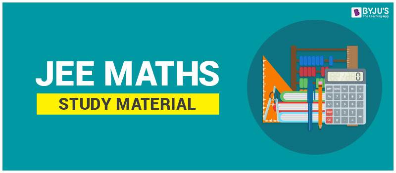 JEE Maths Study Material
