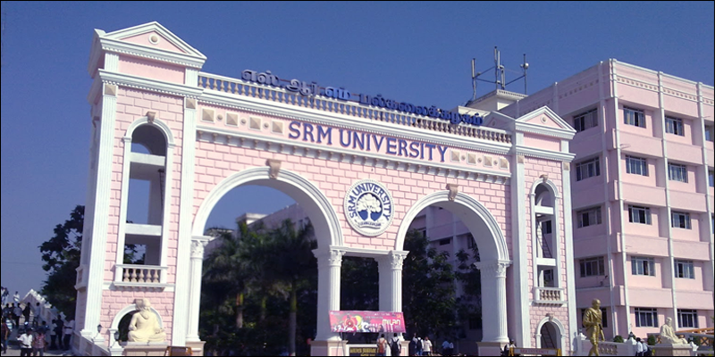 Srm University Srm Institute Of Science Amp Technology In Chennai