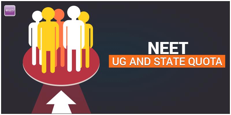 NEET UG and State Quota