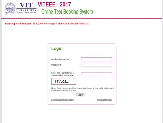 VITEEE 2017