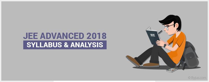 JEE Advanced Syllabus 2018
