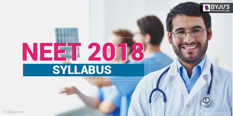 NEET Syllabus 2018