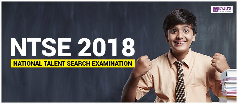 NTSE Exam 2018