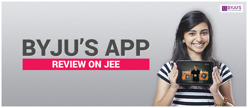 Byju's App Review on JEE