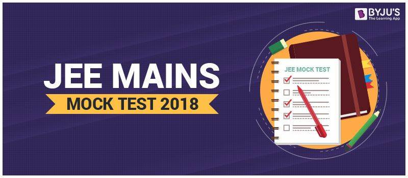 JEE Mains MOCK Test