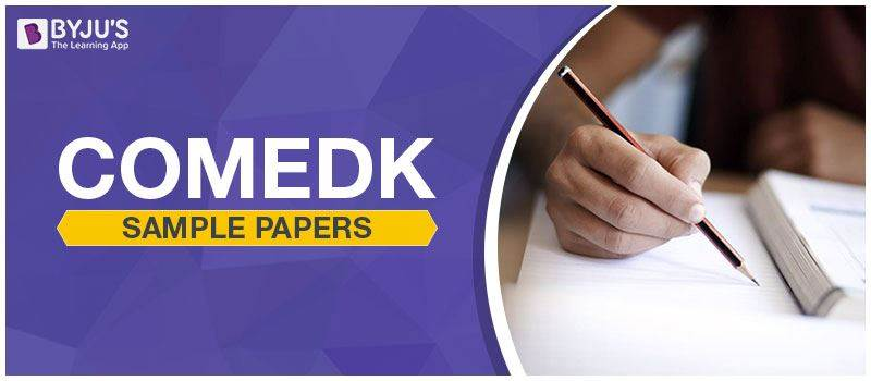 COMEDK Sample Papers
