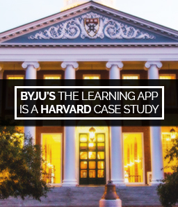 BYJU'S The Learning App is now a Harvard case study