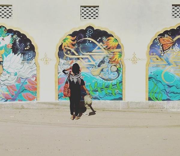 Love for Art & Traveling