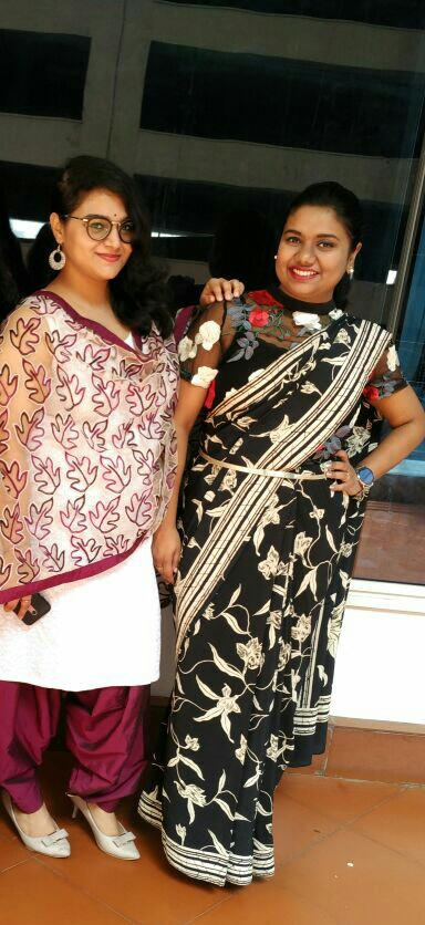 Sakshi & her best friend Payoja