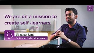 Shankar Ram, Sr. Director - Product Management