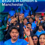 BYJUites roar for  TEAM INDIA : A peek into the London & Manchester trip