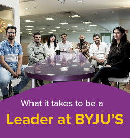 Decoding Leadership at BYJU'S