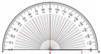 Angles - constructing angles