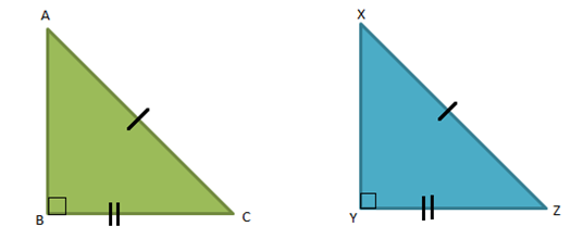 Right Triangle - Congruence Theorem