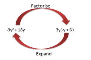 Factorization using common factors