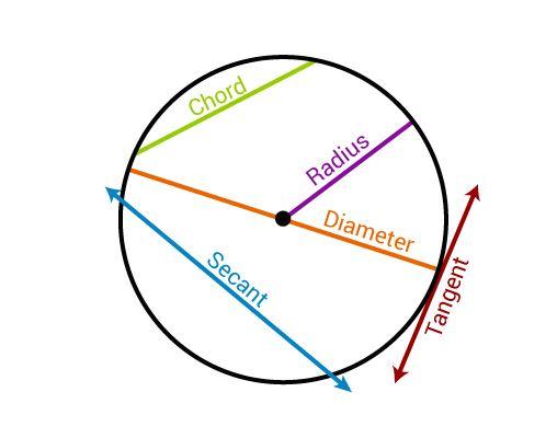 Basic Terminology of Circles