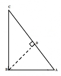 Proof for Pythagoras Theorem