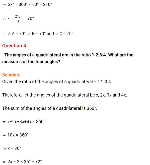important questions class 8 maths chapter 3 understanding quadrilaterals 3