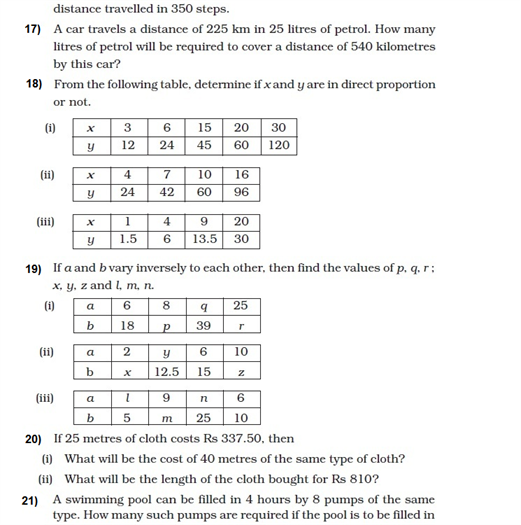 Important Questions for Class 8 Maths Chapter 13 part-3