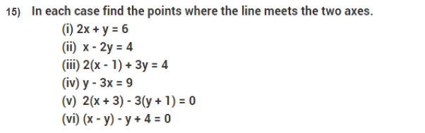 important questions class 9 maths chapter 3 coordinate geometry 15