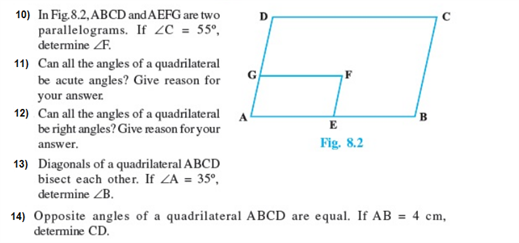 important questions class 9 maths chapter 8 quadrilaterals 2