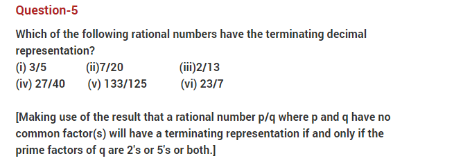 important questions class 10 maths chapter 1 real numbers 5