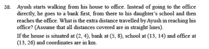 important questions class 10 maths chapter 7 coordinate geometry 5
