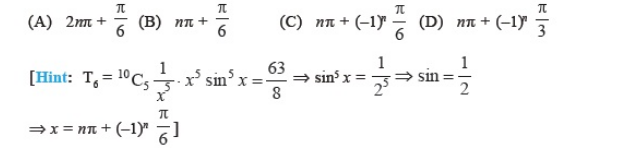 Important Questions Class 11 maths Chapter 8 Binomial Theorem Part 4