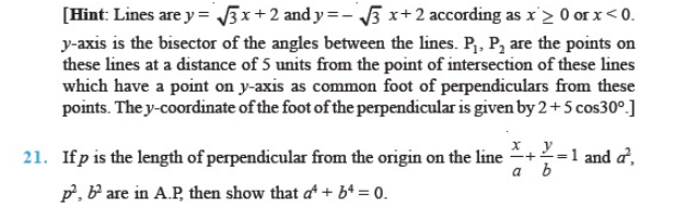 important questions class 11 maths chapter 10 straight lines 3