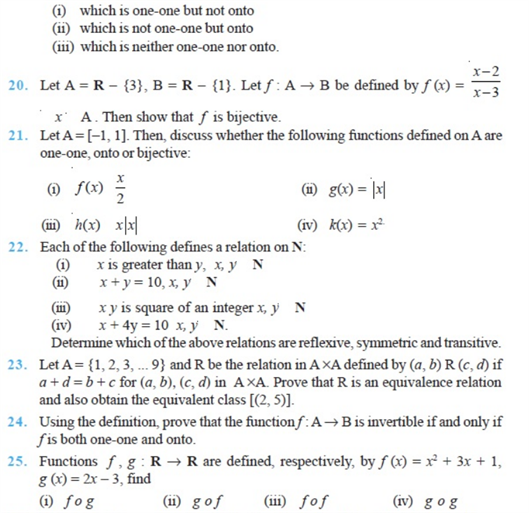 important questions class 12 maths chapter 1 relations functions 3