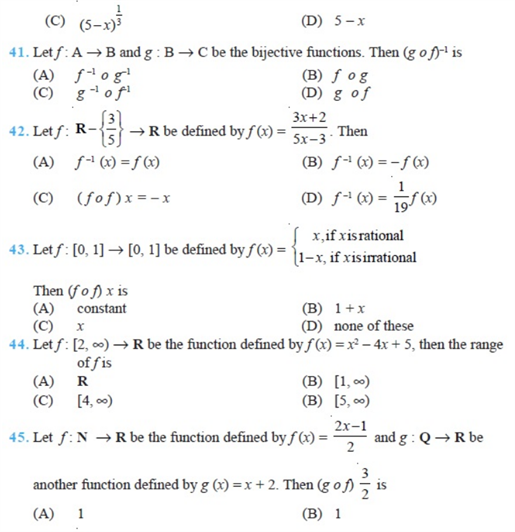 important questions class 12 maths chapter 1 relations functions 7