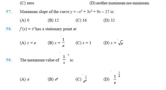 Important Questions Class 12 maths Chapter 6 Applications Derivatives Part 8