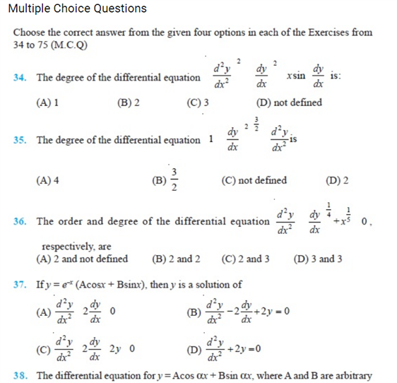 important questions class 12 maths chapter 9 differential equations 4