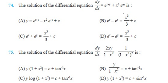 important questions class 12 maths chapter 9 differential equations 11