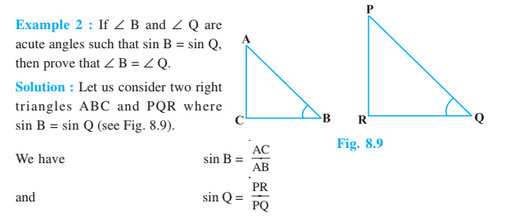 Trigonometry For Class 10