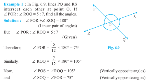 Lines And Angles Class 9