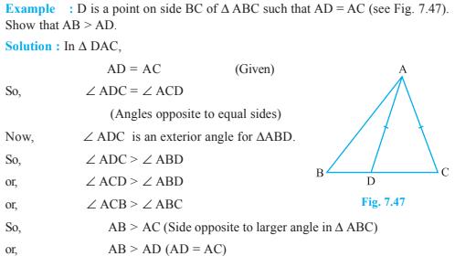 Triangles Class 9