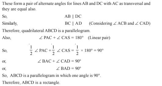Quadrilaterals Class 9