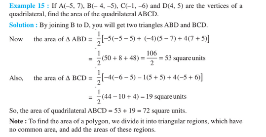 Coordinate Geometry For Class 10