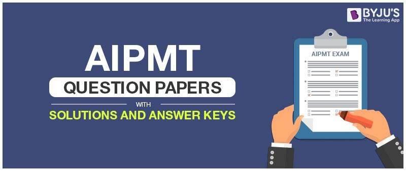 AIPMT Question Paper