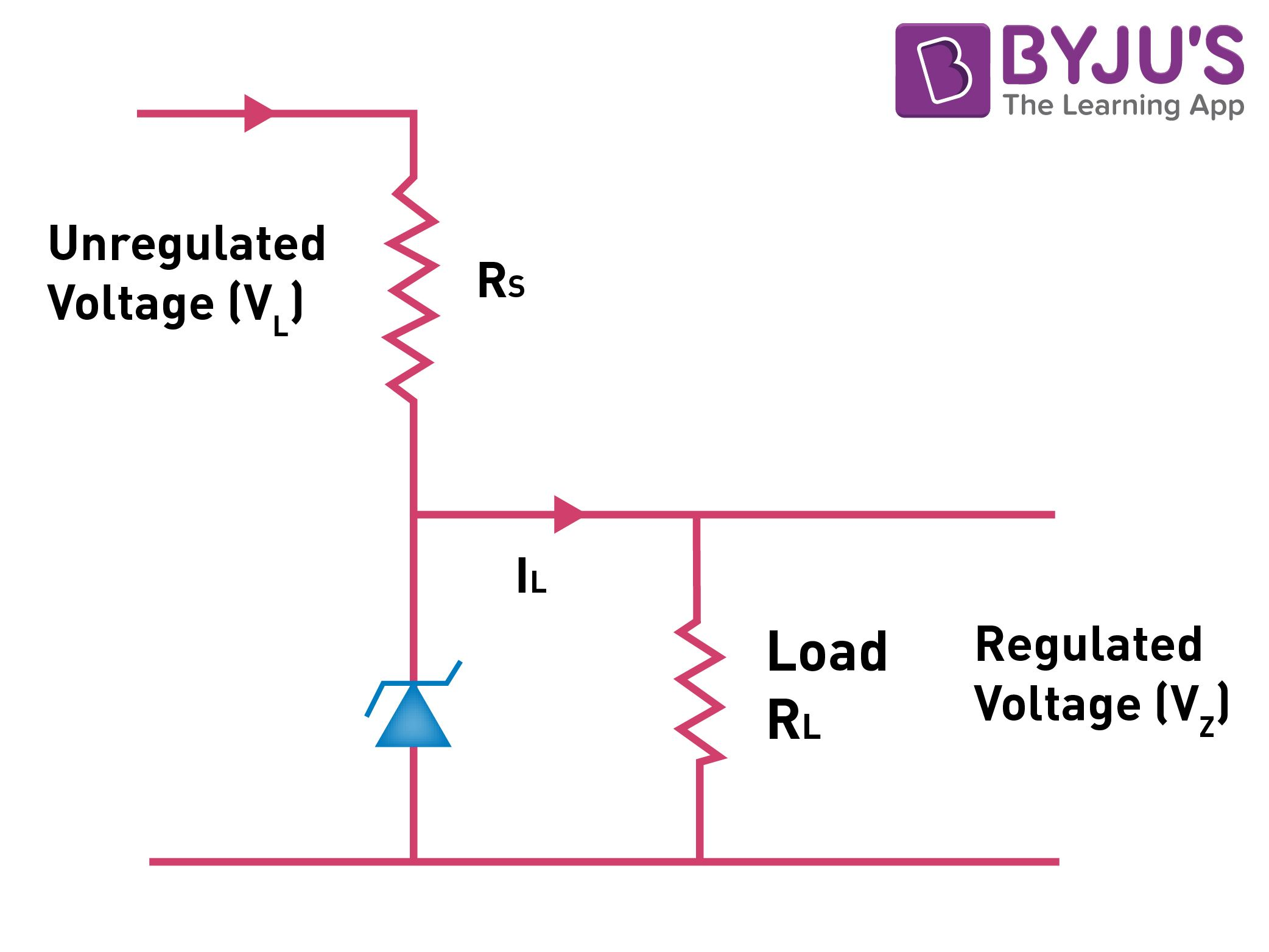 Zener diode connection