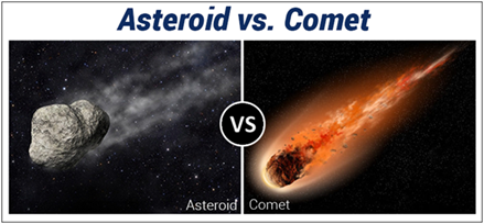 Difference Between Asteroid And Comet - Difference and ...