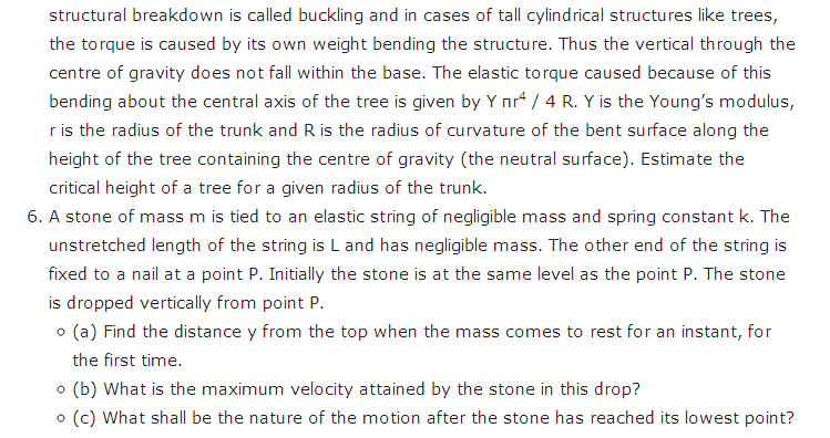 important questions class 11 physics chapter 8 mechanical properties solids 3