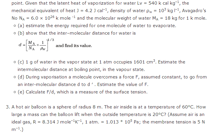 important questions class 11 physics chapter 9 mechanical properties fluids 2