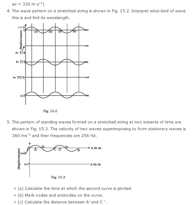 important questions class 11 physics chapter 14 waves 2