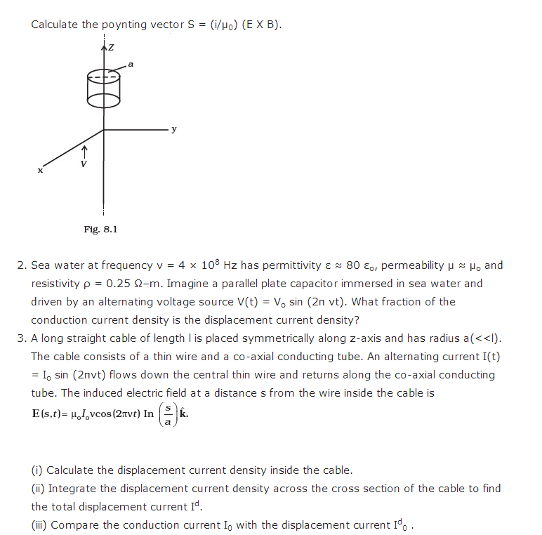 important questions class 12 physics chapter 8 electromagnetic waves 3