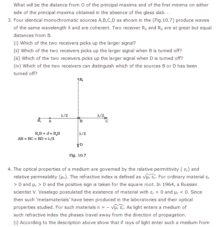 important questions class 12 physics chapter 9 ray optics optical instruments 3