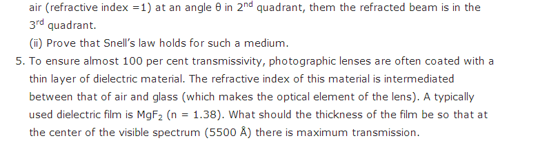 important questions class 12 physics chapter 10 wave optics 4